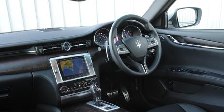 Maserati Quattroporte Turbo Diesel.