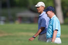 Obama bumped Key up the White House visiting schedule, which may not have been too difficult. Photo / AP