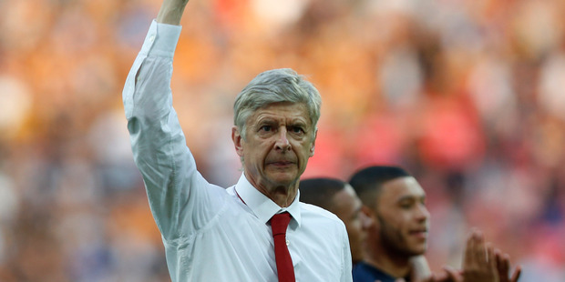 It is no secret that Arsene Wenger is searching for a striker while working in Brazil for French television. Photo / AP