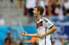 Thomas Mueller of Germany. Photo / AP