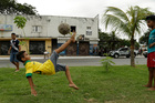 Fortaleza's shops shut early as excitement built in the hours before the World Cup match there between Brazil and Mexico. Photo / AP