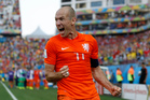 Even Dutch fans weren't prepared for how influential Arjen Robben would be for their team at this World Cup. Photo / AP