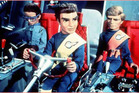 A scene from the original television series 'Thunderbirds'.