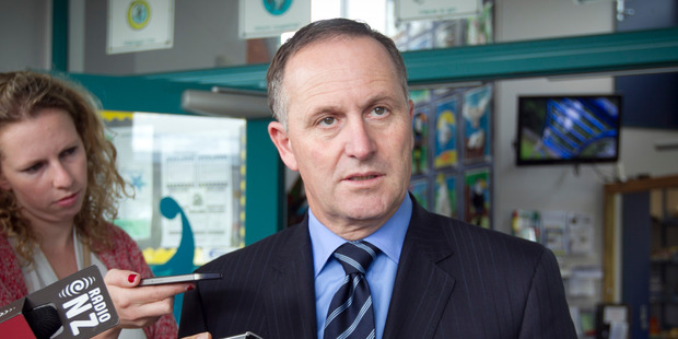 Prime Minister John Key. Photo / Natalie Slade
