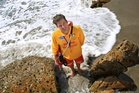 Mount Maunganui lifeguard Steven Gregory from the UK has been hailed as a hero