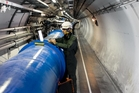 Scientists working at the Large Hadron Collider have discovered more information about the Higgs Boson particle. Photo / CERN
