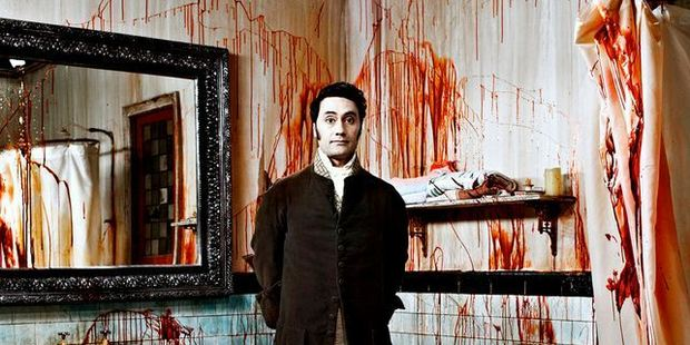 Taika Waititi in his movie What We Do in the Shadows.