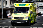 St John has rolled out the first of their yellow ambulances. The new colour and improved reflective properties are a move to improve public, patient and staff safety. Pictured in Auckland today. 9