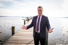 Aspiring politician Tamati Coffey will share his career journey with students at Lakes High School. Photo / Michael Craig