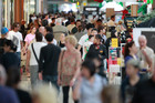The report predicted less enthusiasm for spending in shops in Kiwi's many malls. Photo / APN