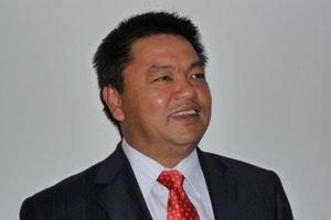 Patrick Teo, chief executive of airport software company, BCS Group.