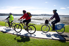 Mangere Bridge offers a pleasant, flat cycle route - be sure to use your bike's bell crossing the bridge as people are often fishing off the wharf.