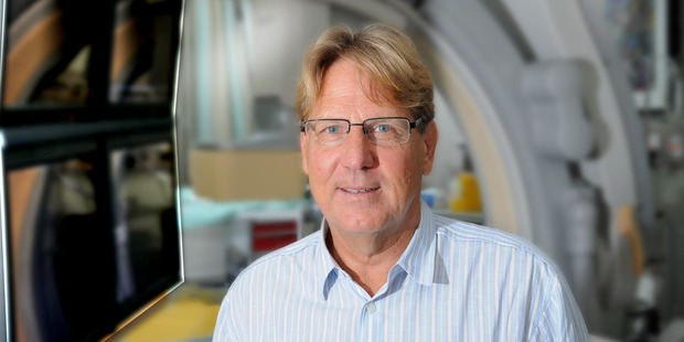 Mercy cardiologist Professor John Ormiston is involved in the ultrasound therapy trial.