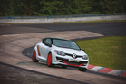 Renault Sport RS275 Trophy-R has broken its class record at Nurburgring Nordschleife. Photo / Supplied