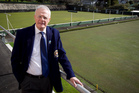 Rod College, president of the Rawhiti Bowling Club, which will be closing after 100 years. Photo / NZ Herald