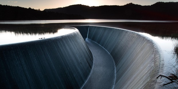 The Lower Nihotupu Dam is among Auckland's built marvels. Photo / Brett Phibbs
