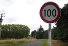 Speed limits could be lowered on some open roads. Photo / APN