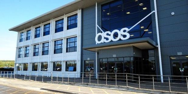 The Asos Barnsley warehouse pictured in 2013. Photo / Asos