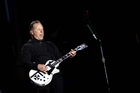Metallica guitarist James Hetfield. Photo / AP
