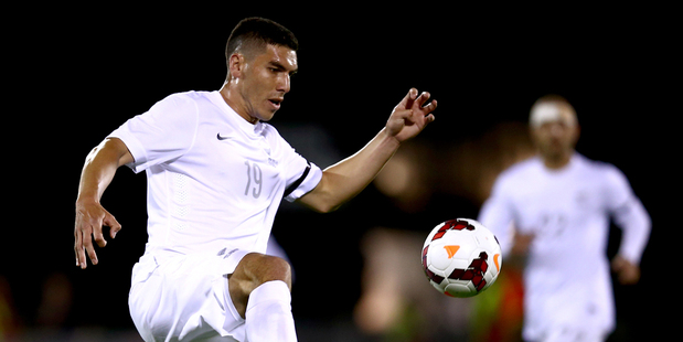 Michael Boxall in action for the All Whites. Photo /Getty Images