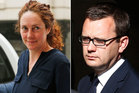 An emotional Rebekah Brooks had to be escorted from the courtroom after she was cleared of phone hacking charges while her ex-lover Andy Coulson was found guilty. Photo / AP