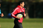 Dan Carter will start from the bench on Saturday night. Photo /Getty Images