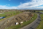 Construction of a new BMX track in Havelock North is on schedule. Photo/Supplied
