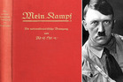 Germany wants to keep a ban on the publication of Hitler's 'Mein Kampf' when its copyright is up next year. Photo / AP