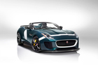 The Jaguar F-Type Project 7 will have a production run of just 250 hand built units. Photo / Supplied