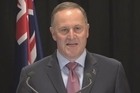 Prime Minister John Key spoke more on Donghua Liu's donations to the Labour Party today. Video / Mark Mitchell