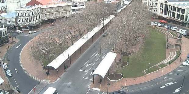 The Dunedin City Council has confirmed it's investigating what's happened to cars in its fleet. Photo / DCC webcam