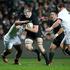 All Blacks lock Brodie Retallick in action against England. Photo / Brett Phibbs
