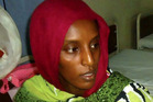 Meriam Yahya Ibrahim who gave birth to a baby girl in prison.