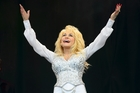 Dolly Parton was a huge hit. Photo / AP