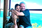 Michelle Dickinson has been on Necker Island in the Caribbean with billionaire Sir Richard Branson.