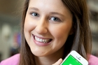 Hannah Duder hopes her app will help the 42 per cent of young Kiwis who did not vote in the last general election.