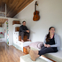 Tom and Shaye Wilson in their Tiny House in Oratia, Auckland. Photo / Richard Robinson