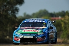 Mark Winterbottom has a 161-point lead over Craig Lowndes heading into this weekend. Photo / Getty Images