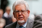 Rolf Harris received a five-year-nine-month sentence yesterday. Photo / AP