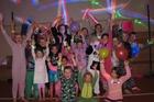 Springbank School kids raising money for Foster Hope with a pyjama disco. PHOTO / Peter de Graaf