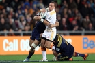 Playmaker Aaron Cruden's direction will be vital for the Chiefs' last two round-robin Super Rugby games. Photo / Getty Images