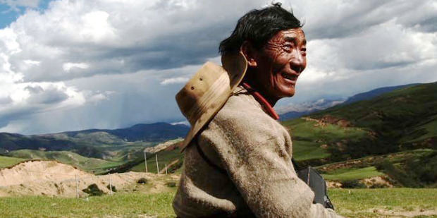 Tibetans can thank an extinct human relative for providing a gene that helps them adapt to the high altitude. Photo / AP