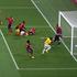 Brazil captain Thiago Silva scores the game's opener. Photo / Getty Images