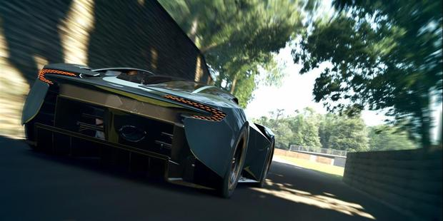 Aston Martin have created the DP-100 concept for Gran Turismo 6 owners to download and race. Photo / Supplied
