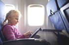 Air NZ says its customers can now use electronic devices - such as tablets and smartphones - for the duration of their journey. They must be in non-transmitting (flight) mode. Photo / Thinkstock