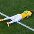 Neymar reacts at the end of the penalty shootout. Photo / Getty Images