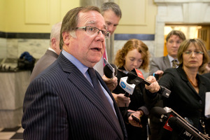 Murray McCully has provided detailed instances in which diplomats have avoided prosecution since 2010. Photo / Mark Mitchell