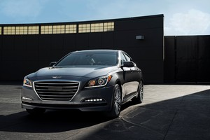 The new Hyundai Genesis has just been launched in South Korea.