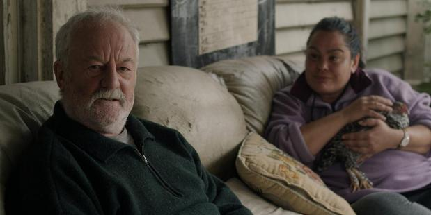 Bernard Hill and Rachel House in Hope and Wire.