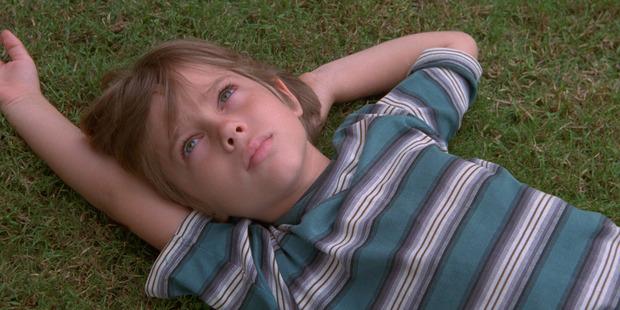 The young Ellar Coltrane near the start of Richard Linklater's movie Boyhood.
